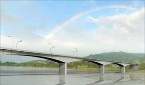 fourth mekong bridge