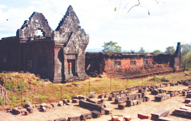 Wat Phu- a UNESCO World Heritage Site from 12th century – courtesy: Tourism Marketing Department.